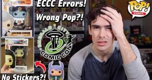 Funko Pop Errors With ECCC 2021 | Walmart Exclusives No Stickers | GameStop Releases Wrong Pops