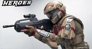 Halo ODST Desert Cosplay Foam Armor Suit-up Test Film