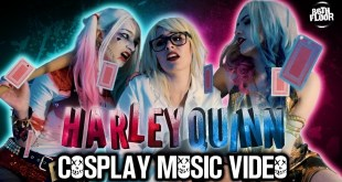 Harley Quinn Cosplay Music Video - Games
