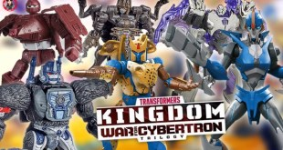 Hasbro Pulsecon 2020: Transformers WFC Kingdom & Prime Toy Reveals