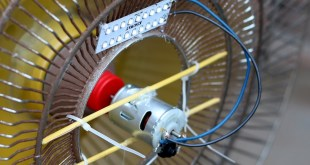 How to make Generator at Home with Dc Motor & Pedestal Fan