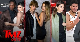 Kylie & Travis' Triple Date with Biebers, Kendall & Devin | TMZ TV
