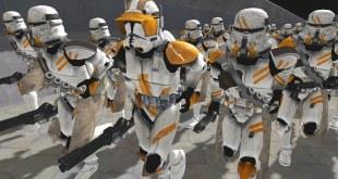 Largest CLONE WARS Ship Boarding EVER! - Men of War: Star Wars Mod Battle Simulator