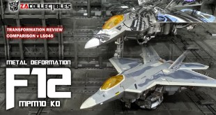 MPM10 KO Starscream - F12 Metal Deformation | Transformers Movie Collection