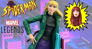 Marvel Legends GWEN STACY Spider-Man Vintage action figure Review / Toys e Travels