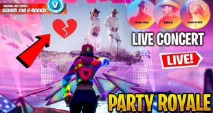 *NEW* FORTNITE PARTY ROYALE LIVE CONCERT EVENT! Ft. Diplo, Young Thug and Noah Cyrus!