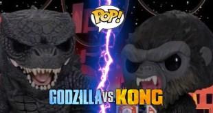 Nuevas Figuras de Godzilla vs Kong Funko Pop
