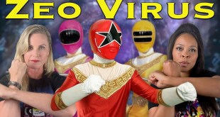 Power Rangers Zeo Virus - feat. Catherine Sutherland and Nakia Burrise [FAN FILM]