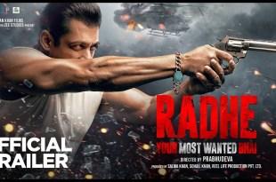 Radhe: Your Most Wanted Bhai | Official Trailer | Salman Khan | Prabhu Deva | EID 2021