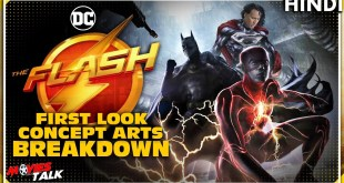 THE FLASH : 2022 Film FIRST LOOK & New Suit Revealed At DC Fandome Panel [Explained In Hindi]