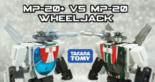 Takara Tomy Transformers Masterpiece MP-20+ Anime Wheeljack VS MP-20 Wheeljack