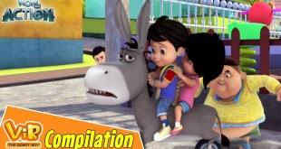 Vir The Robot Boy | Non Stop Action | Cartoon For Kids | Compilation 13
