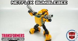 Walmart Exclusive Hasbro / Takara Tomy Transformers Netflix Series Bumblebee + MP-21 Comparison