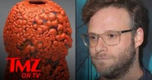Seth Rogen's Ceramic Vase Sells for Thousands at Auction | TMZ TV