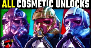 Star Wars Squadrons - ALL COSMETIC Customizations