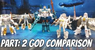 Transformers Takara Tomy Generations Selects God Neptune (Hasbro Pulse Exclusive) REVIEW PART 2