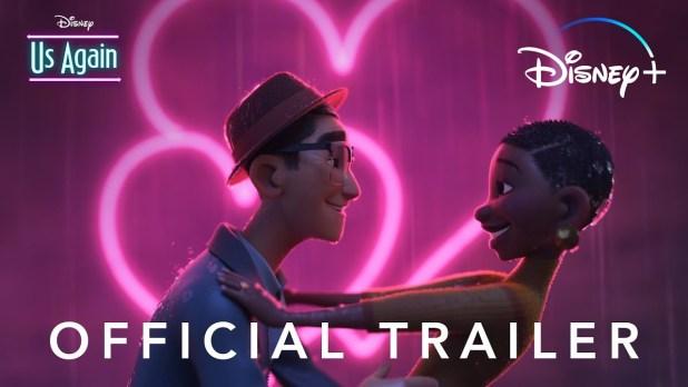 Us Again Official Trailer Disney+ Animation