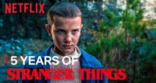 Stranger Things Netflix 5 Years of - Most Watched TV Series