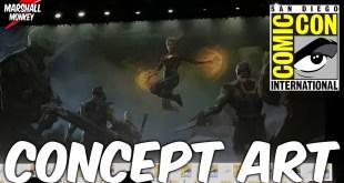 Captain Marvel Details & Concept Art Revealed - Comic Con 2017