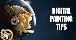 Concept Art for Comics-Episode 3-DIGITAL PAINTING TIPS