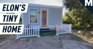 Does Elon Musk, Minimalist, Live in a Tiny $50,000 House Near a SpaceX Site? | Mashable