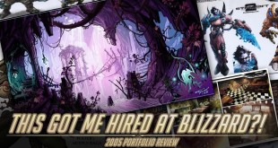 This got me hired at Blizzard!? Reacting to my old portfolio.