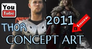Thor 2011 Early Movie Concept art