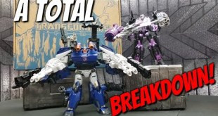 Transformers: Prime War Breakdown and Vehicon 2-Pack (Hasbro Pulse Exclusive) REVIEW and BREAKDOWN