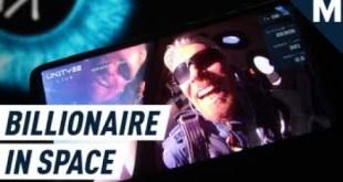 Watch Richard Branson Beat Bezos To Space | Mashable