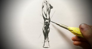 How to Draw Legs (Comic Book Style) Pencil Drawing Tutorial