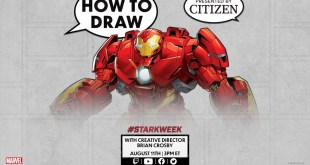 How to Draw the Hulkbuster Armor LIVE w/ Brian Crosby! | Marvel Comics