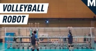 Japan's National Volleyball Team Has a Secret Weapon: A Blocking Robot | Mashable