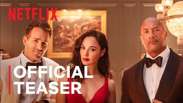 Red Notice Netflix Official Teaser Trailer w/ Gal Gadot & Ryan Reynolds