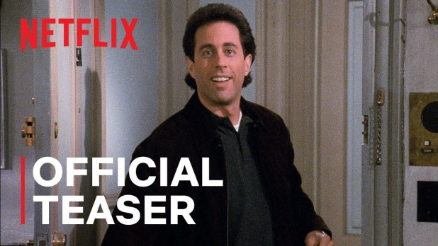 Seinfeld Official Teaser Netflix - All 180 Episodes of Seinfeld are streaming