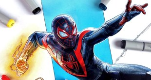 Drawing Marvel's Spider-Man: Miles Morales | PS5