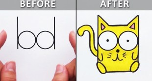 Great Drawing Tricks & Doodle Ideas for Beginners | DIY Life Hacks & More by Blossom