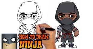 How to Draw Fortnite | Ninja