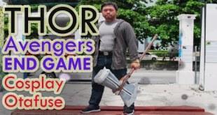 THOR Avengers END GAME Cosplay Otafuse 2 Kota kinabalu Sabah