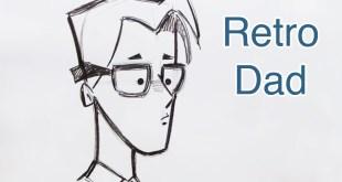 Draw a Retro Style Cartoon Dad (Step by Step)