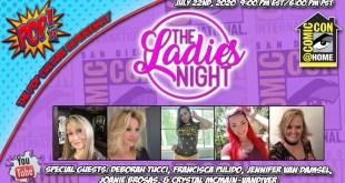 SDCC@HOME LADIES NIGHT!!