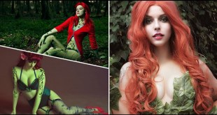 TOP 25 HOT POISON IVY COSPLAY