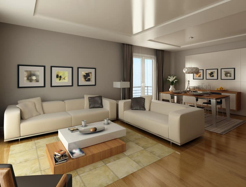 New Style Living Room Design