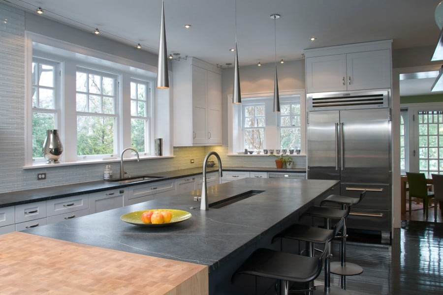 soapstone kitchen counters pottery barn rugs countertops ideas pictures countertop and butcher block