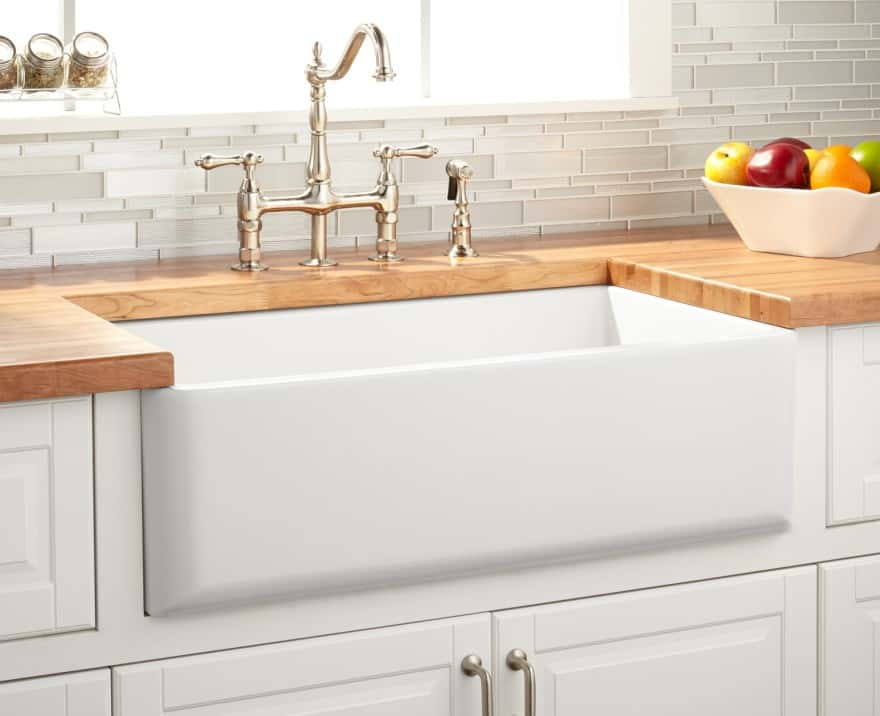 farmhouse sink base cabinet overview