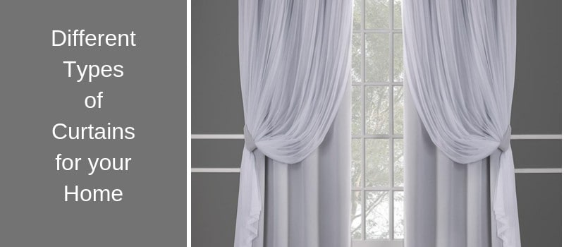 15 different types of curtains for your
