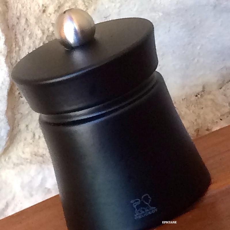 moulin a poivre peugeot 8cm en bois noir mat baya