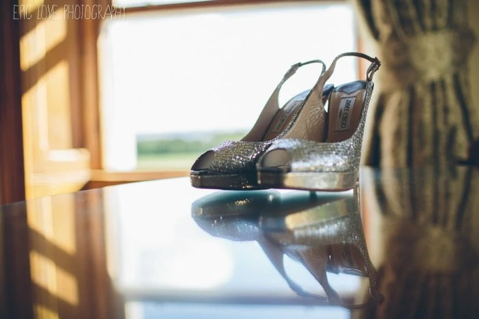Fine art wedding photography Jimmy Choo Shoes