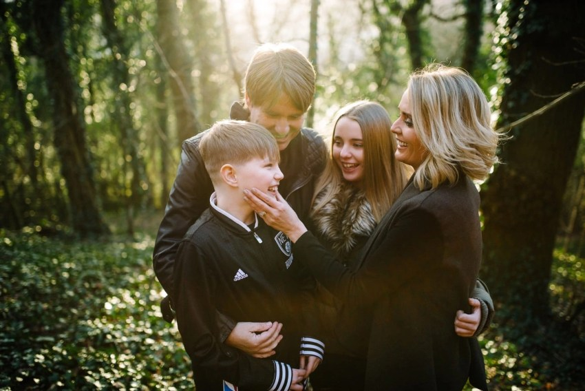 Charlotte Gambill Family Photoshoot Leeds Bradford