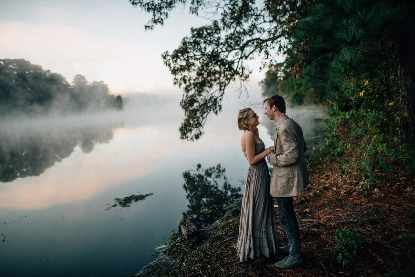 Huntsville Texas State Park Engagement Photography
