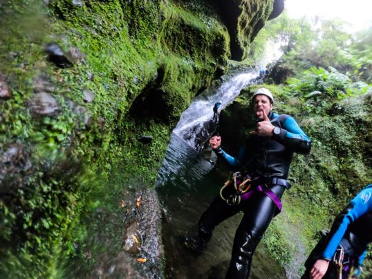 Share your travel experience canyoning in Madeira